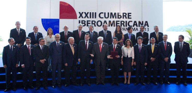 Imagen obtenida de la página de Flickr del Ministerio de Asuntos Exteriores de la Cancillería del Perú. Cumbre de Panamá 2013.